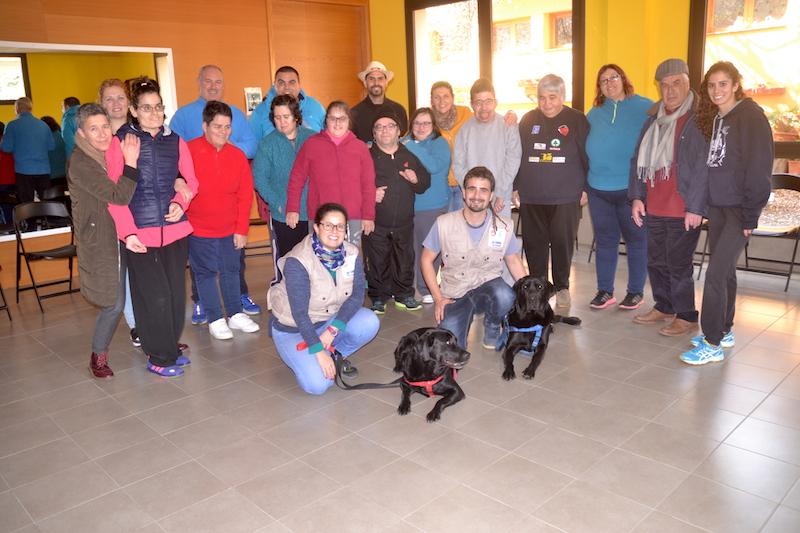 terapia canina centro ocupacional 3w