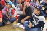 Los niños y niñas disfrutan del rap y el hip-hop en la Biblioteca Insular