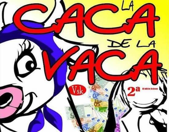 CARTEL CACA DE LA VACA 2018 1w 550p