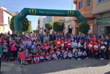El CER de Telde y Valsequillo corre para recaudar fondos para la Fundación Vicente Ferrer en la India