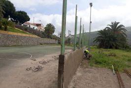 El paso de las borrascas facilita la continuación de las labores de limpieza y reparación por los barrios de Valsequillo