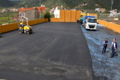 Valsequillo inicia la reparación de la cancha de Lomitos de Correa