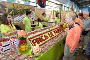 15.000 personas rindieron pleitesía a la fresa en Valsequillo