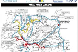 Info: 42º Rally Islas Canarias a su paso por Valsequillo de G.C. (Horarios Cierre Carreteras, Tramos Cronometrados, etc.)