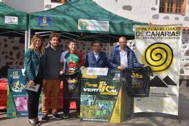 Valsequillo acoge el Campeonato de Canarias de Kilómetro Vertical