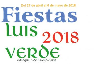 Consulte el Programa de las Fiestas de Luis Verde-Valsequillo 2018