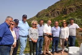El Presidente del Cabildo de GC apadrina el proyecto de desarrollo de Valsequillo y lo califica como un ejemplo a seguir