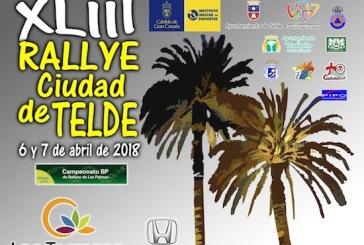 Consulte los tramos cronometrados del 43º Rallye de Telde que este año pasa por Valsequillo