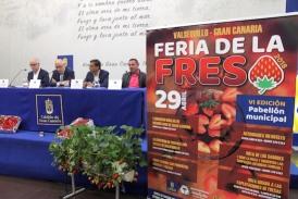 Valsequillo presenta uno de sus productos estrella en la VI Feria de la Fresa