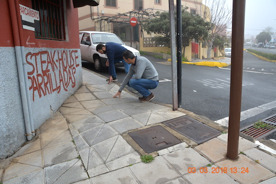 Acera Fco. Díaz Casanova AV 1w
