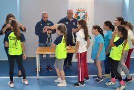 Clausura de los Juegos Escolares Municipales en Valsequillo