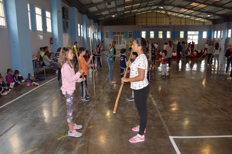 I Encuentro escolar de juegos autóctonos y tradicionales