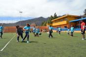 550 escolares disfrutaron del balonmano en Valsequillo