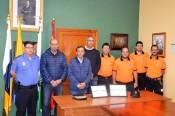 Valsequillo felicita a su Policía Local y a los voluntarios de Protección Civil por su distinción en el acto del Día de la Policía Canaria