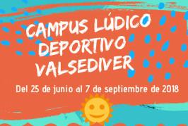 """Campus Lúdico Deportivo """"Valsediver"""" para los más jóvenes de Valsequillo"""