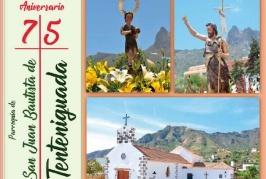Consulte el Programa de Actos de las Fiestas en Honor a San Juan Bautista 2018 de Tenteniguada