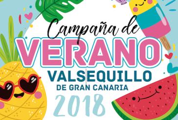 Consulte el Programa de Actividades de la Campaña de Verano 2018 en Valsequillo de G.C.