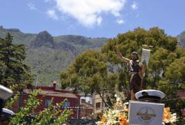 Tenteniguada celebra su día grande de las Fiestas de San Juan