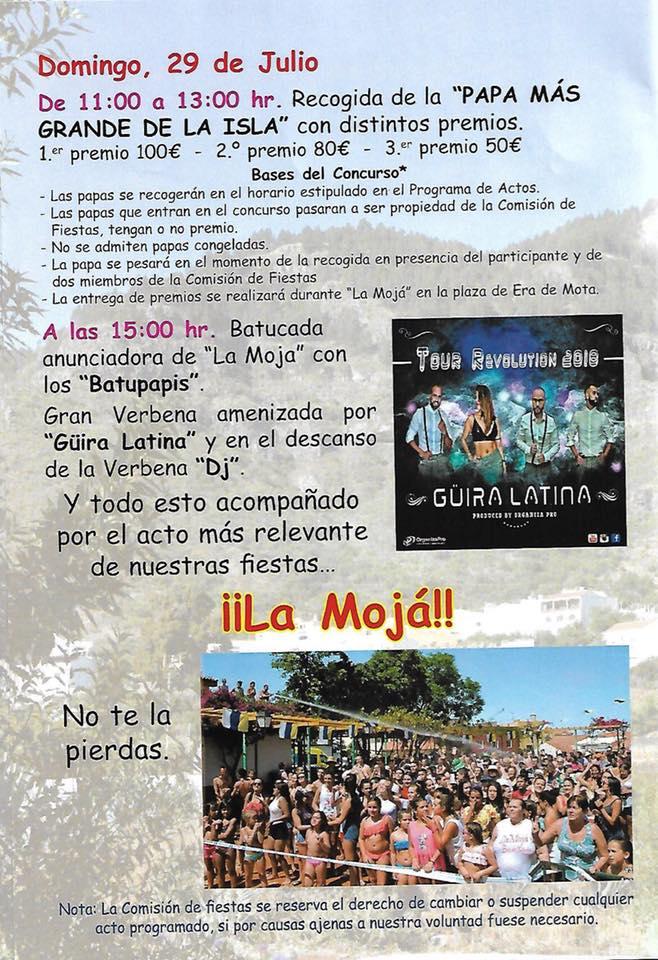 Prog. Fiesta de la Cosecha 6w