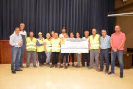 Una docena de desempleados mejorarán los accesos a las zonas agrarias más importantes de Valsequillo