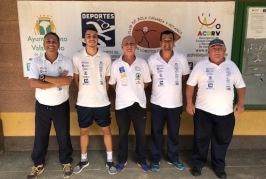 El equipo de Bola Canaria Lomitos de Correa se proclama campeón del grupo II de la Liga Insular de Gran Canaria