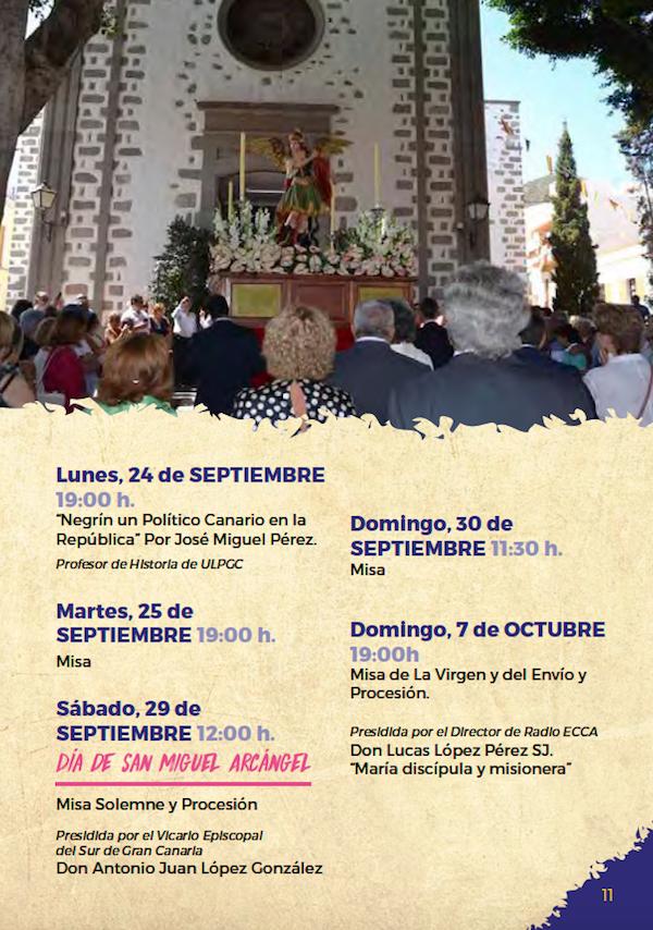 Programa Fiestas San Miguel 2018 11w