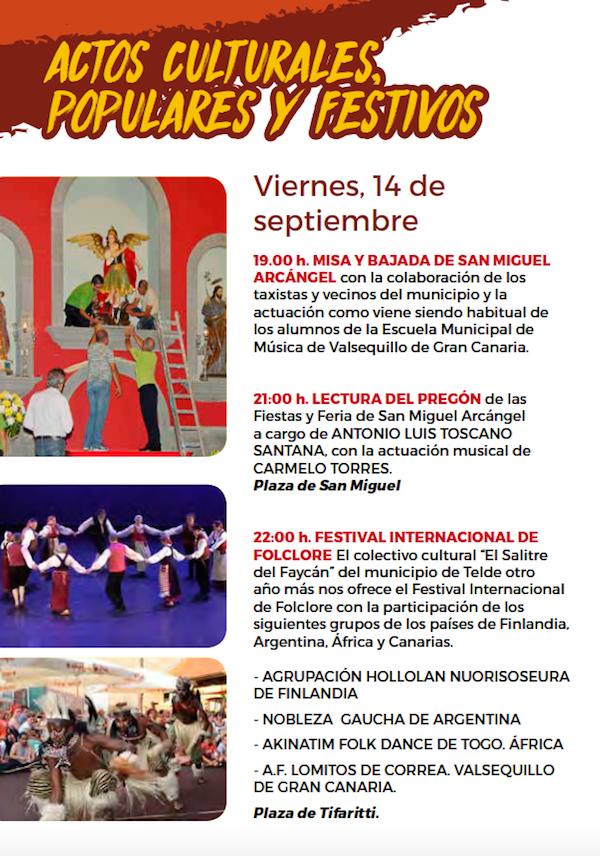 Programa Fiestas San Miguel 2018 12w