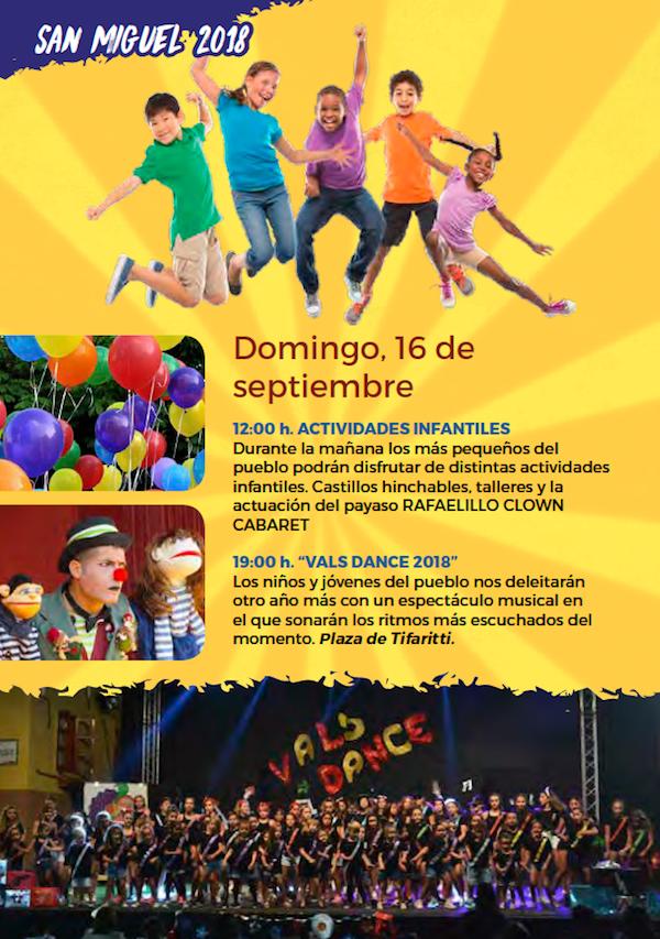Programa Fiestas San Miguel 2018 14w