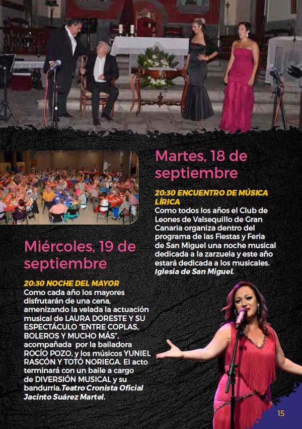 Programa Fiestas San Miguel 2018 15w
