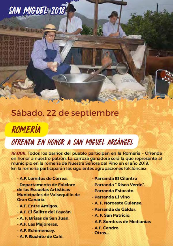 Programa Fiestas San Miguel 2018 18w