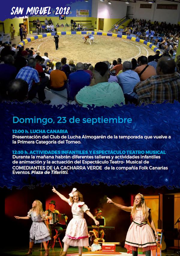 Programa Fiestas San Miguel 2018 20w