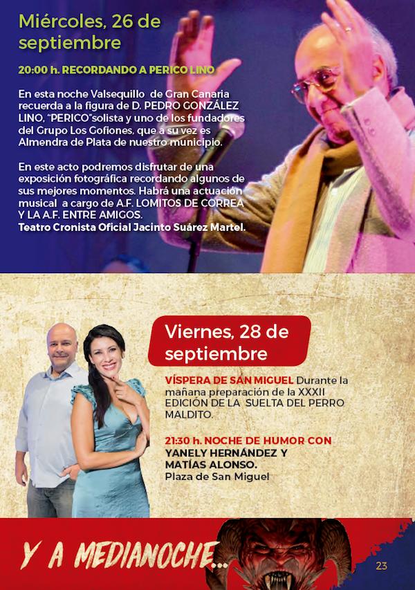Programa Fiestas San Miguel 2018 23w