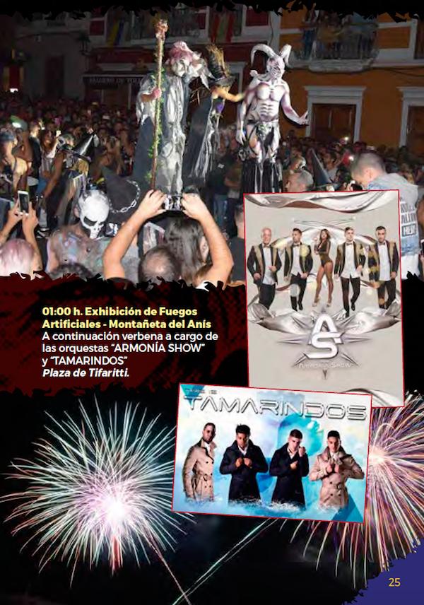 Programa Fiestas San Miguel 2018 25w