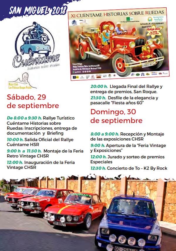 Programa Fiestas San Miguel 2018 28w