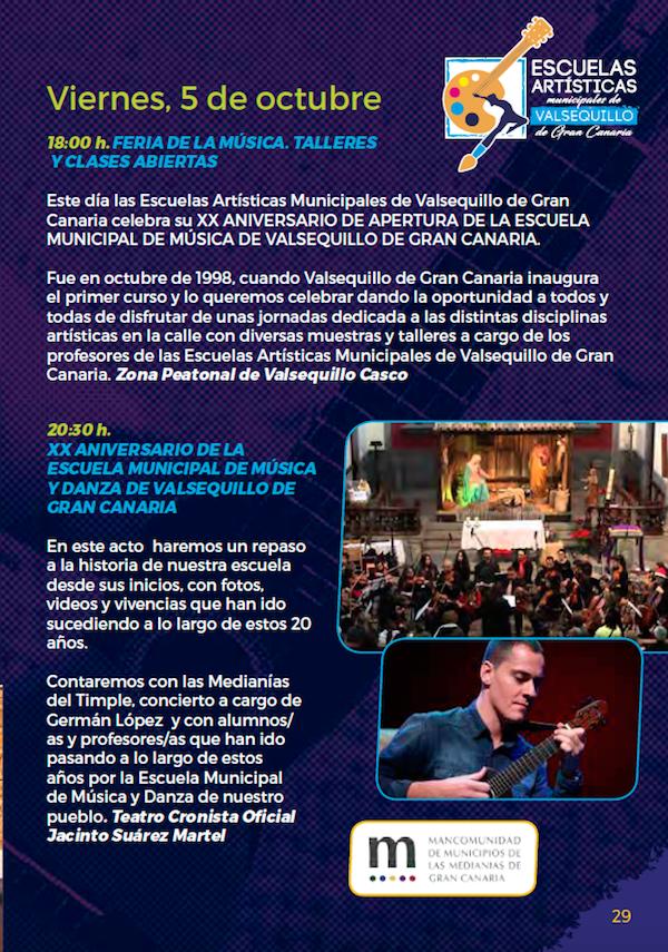 Programa Fiestas San Miguel 2018 29w