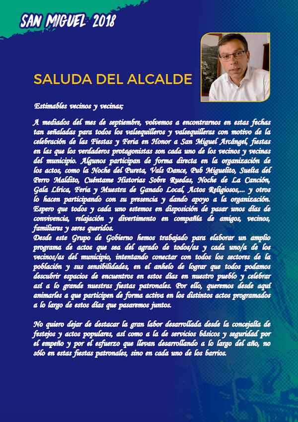 Programa Fiestas San Miguel 2018 2w