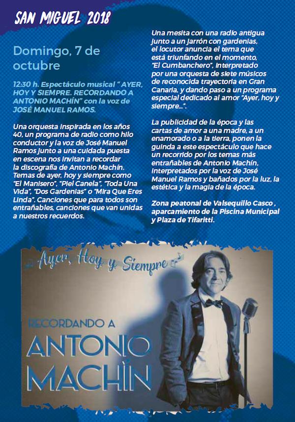 Programa Fiestas San Miguel 2018 32w