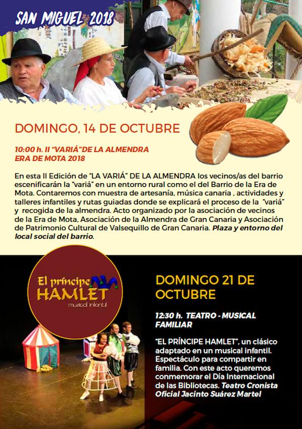 Programa Fiestas San Miguel 2018 34w
