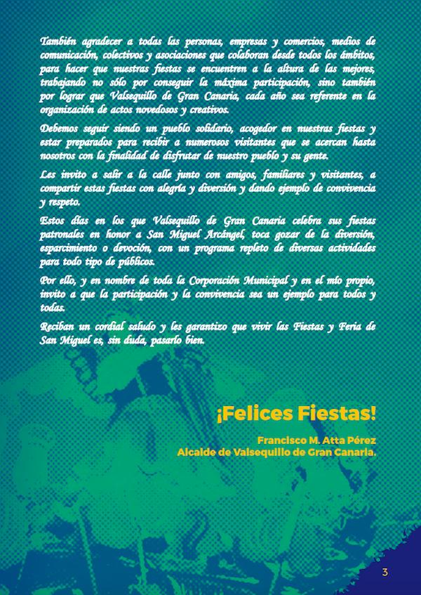 Programa Fiestas San Miguel 2018 3w