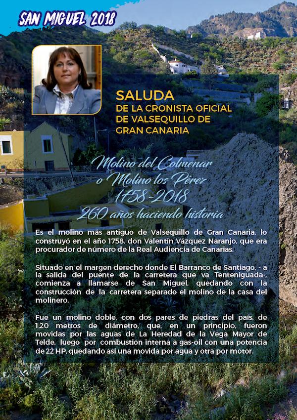 Programa Fiestas San Miguel 2018 6w