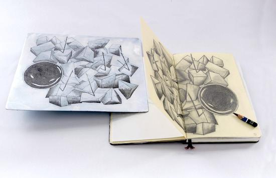 Últimos días para disfrutar en el Centro de Artes Plásticas del Cabildo de la muestra 'Historias de papel'