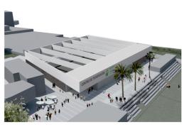 Abierto el plazo para la licitación del Centro de Formación y Tecnificación Deportiva en Valsequillo