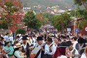San Miguel recibe más de 4.500 kilos de ofrenda de sus vecinos de Valsequillo