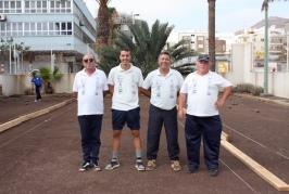 El Club de Bola Canaria Lomitos de Correa quedan subcampeones de la Liga Insular