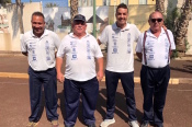 El Club de Bola Canaria Lomitos de Correa de Valsequillo obtuvo un meritorio 7º puesto en la Liga Autonómica