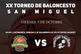 Cinco torneos deportivos en honor a San Miguel en Valsequillo