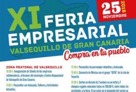Valsequillo celebra el domingo 25 de noviembre su Feria Empresarial