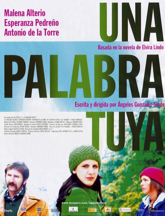 Dos operarias de limpieza viaria de la capital abordan en la Biblioteca Insular el filme 'Una palabra tuya', de González-Sinde, en el marco del ciclo 'Directoras'