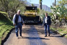 Valsequillo inicia la repavimentación de la calle Las Haciendas en el barrio de Las Vegas