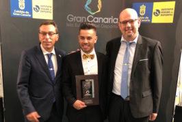 El Cabildo de Gran Canaria premia al copiloto de rallies Kevin Peñate